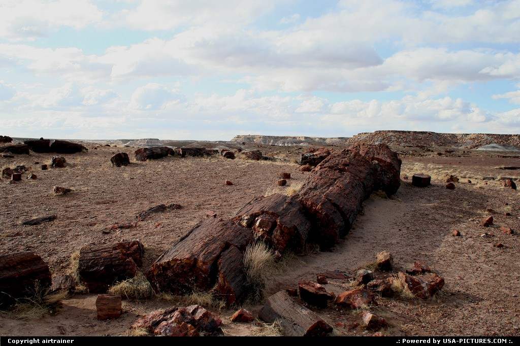 Picture by airtrainer:  Arizona Petrified Forest