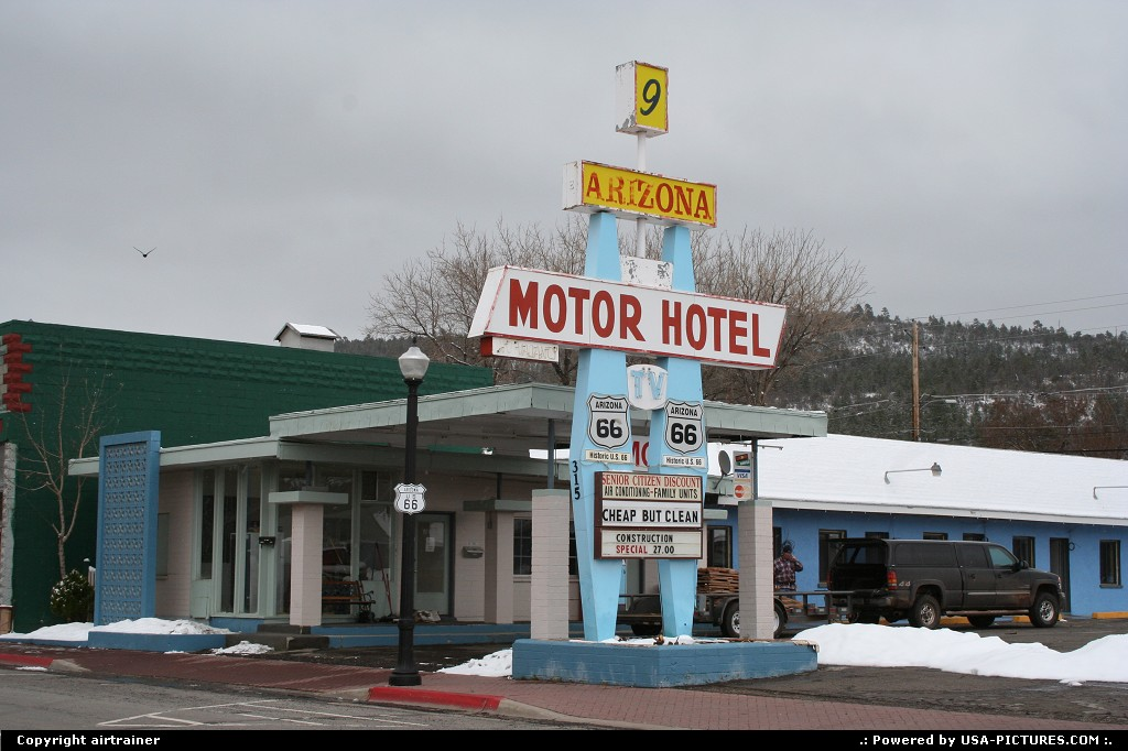 Picture by airtrainer: Williams Arizona   motel, route 66, Williams