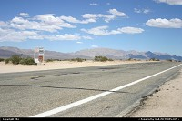 On the road to Vegas, bypassing the Interstate road