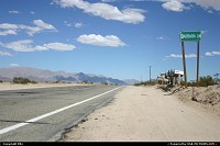 On the road to Las Vegas, not that far from Amboy and the Bagdad Café