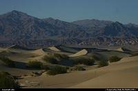 Photo by elki |  Death Valley sand dunes vallée de la mort Death valley