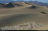Photo by elki |  Death Valley Ddeath Valley Vallée de la mort Sand dunes