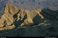 Photo by elki |  Death Valley Death Valley Vallée de la mort Zabriskie Point
