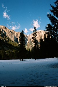 Photo by elki |  Yosemite snow, winter