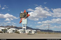 Amboy : Roy's Motel and Café, a legacy of the sixties. On Route 66, en route to Las Vegas