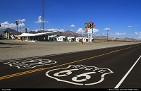 The famous Roy's Motel at Amboy.