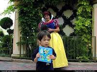 Photo by outofthisnature | Anaheim  Snow White, Disneyland, autograph