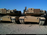 Barstow : M1A2. Interesting angle on an armor classic.