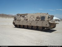 Barstow : Mighty wolverine. Strongest recovery vehicles in the US Army.