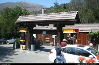 Gas station at big sur along the route 1