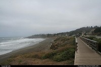 Cambria : beach path, cambria california