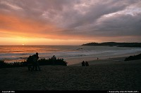 Photo by elki | Carmel  sunset, beach