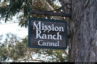 Mission ranch entrance carmel