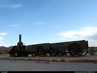 Photo by Bernie |  Death Valley steam, wagon
