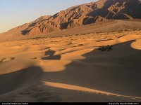Death Valley national park: Dunes at Death Valley National Park