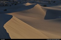 Death Valley, , CA, Sand Dunes at dusk