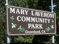 Mary Lavaroni Community Park in the center of Groveland