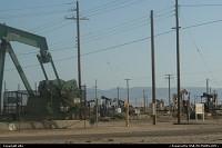 Pompe à pétrole en Californie