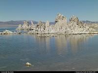 mono lake et ses concretions calcaires