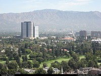 Los Angeles : Burbank from Universal Studios