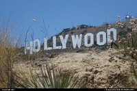 Los Angeles : Famous Hollywood sign.