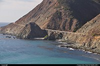 The wonderful coastal route 1, here after big sur and not that far from Carmel by the sea