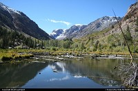 Not in a city : Lundy Canyon in Inyon National Forest. Best place around to see fall colors. Near Yosemite. Simply breathtaking.
