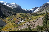 Lundy Canyon in Inyon National Forest. Best place around to see fall colors.