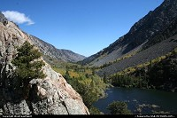 California, Lundy Canyon in Inyon National Forest. Your best bet around to enjoy fall' colors!