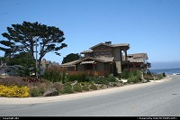 Pacific Grove : lovely wooden house along the pacific coast, at pacific grove