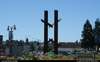 Photo by WestCoastSpirit | Petaluma  road 1, railway, modern art