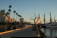 Le port de San Diego, au centre. Un endroit sympa pour flâner.