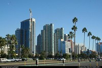 Photo by WestCoastSpirit | San Diego  skyline, building, sky scrapper