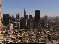 Downtown view from coit tower