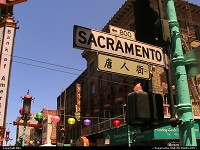 Photo by elki | San Francisco  sign, chinatown