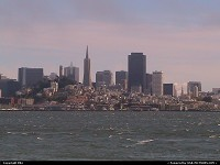 Photo by elki | San Francisco  skyline, bay, sea