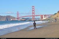 Photo by elki | San Francisco  baker beach
