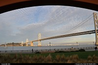 Photo by elki | San Francisco  oakland bridge, embarcadero, san francisco, rincon park