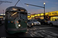 San Francisco : streetcar links market street et fishermanwharf