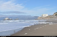 Ocean beach, cliff house. Just enjoy this sunny saturday. you can walk along the San Francisco west coast to the golden gate bridge.