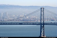Photo by airtrainer | San Francisco  bay bridge