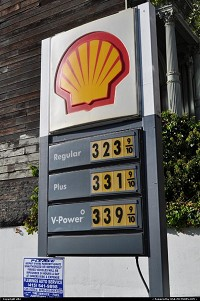 Photo by elki | San Francisco  gas prices october 2010