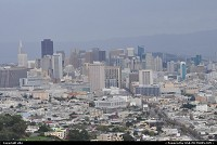 San francisco overview from twin peaks