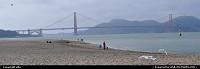 San Francisco : golden gate bridge view