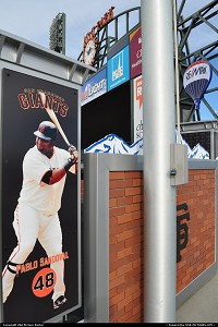 AT&T Park is a baseball park and home to the San Francisco Giants, of Major League Baseball. Originally named Pacific Bell Park, then renamed SBC Park in 2003, as a result of the SBC acquisition of Pacific Bell, the stadium was ultimately christened AT&T Park on March 3, 2006, just two years after it had adopted the SBC Park name. SBC Communications, the flagship sponsor of the park, merged with AT&T Corp. in 2005 and the new AT&T Inc. took the more iconic name for its company. This marked the third official name for the park since its opening in 2000. The park is located at 24 Willie Mays Plaza, at the corner of Third Street and King Street, in the South Beach neighborhood of San Francisco, California. The park also hosts the Kraft Fight Hunger Bowl, a college football bowl game, every year. more, http://en.wikipedia.org/wiki/AT%26T_Park