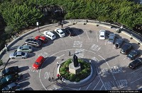 San Francisco : Parking lot at the bottom of coit tower