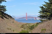 San Francisco : West San Fancisco coast. enjoy the coastal trail, trought ocean beach, lincoln park, baker beach, presidio ... to the bottom of the golden gate bridge !!