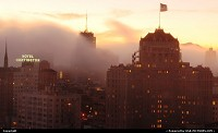 Photo by elki | San Francisco  fog, san francisco