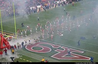 yep, there you go, the show is on the go !! 49 ers, san francisco game