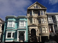 Photo by WestCoastSpirit | San Francisco  victorain, house, sfo, san fran, the city